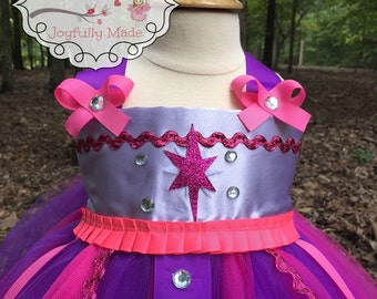 Twilight Sparkle Tutu Dress - Twilight Sparkle Costume - My Little Pony Costume