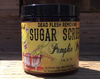 Limited Edition Pumpkin Pie Sugar Scrub Vegan Organic