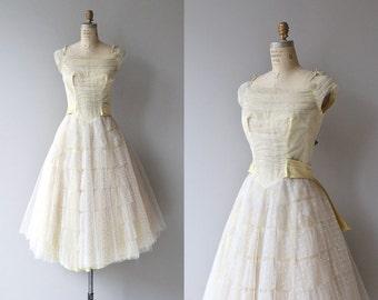 Chances Are dress | vintage 1950s dress | tulle 50s party dress