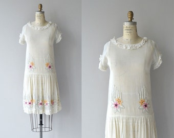 Quite Contrary dress | vintage 1920s dress | embroidered 20s dress