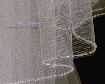 Classic Veil, Long Veil, Teardrop Veil, Cathedral Veil, Royal Cathedral Veil, 2 Tier Veil, Crystal Veil, Made-to-Order Veil, Bespoke Veil