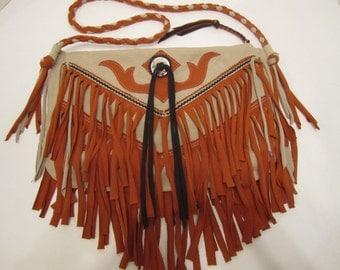 Cowgirl Up Fringe Cross Body Bag