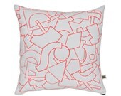 Radium Screen-printed and Quilted Fluoro cushion