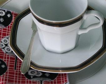 Vintage Monarch SPREADER Knife, Silver Plate, Chevron Pattern, Jam, Toast, Butter