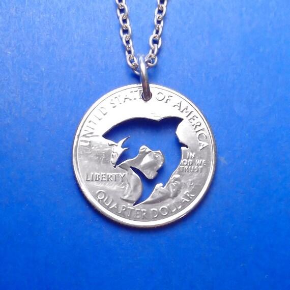 shark necklace shark pendant shark key ring shark