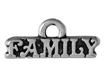 Family Charm - Set of 10 - #MP121