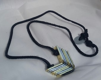 Chevron Hardware Necklace