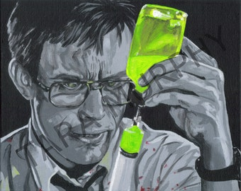 Doctor Herbert West - Re-Animator print