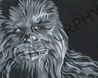 Chewbacca - Star Wars print
