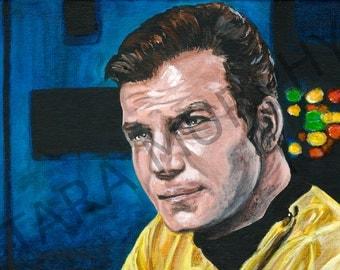 Captain Kirk - Star Trek print