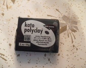 Kato Polyclay, Van Aken, 2 OZ, Black, Never Used, Original Packaging, Polymer Clay Supplies, Fimo, Sculpey, Kato Clay