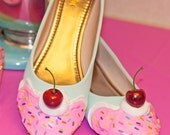 Ice Cream Shoes Custom Available! Dessert Shoes