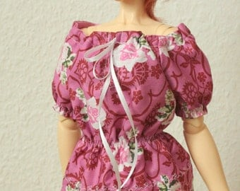 BJD Peasant Blouse for SD Girls Top 21010
