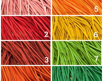 "50 Suede Necklaces  16-18"" Length, Pick Your Colors"