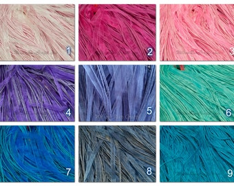 10 Organza Ribbon Cord Necklaces 18 inch Length, You Pick Your Colors,