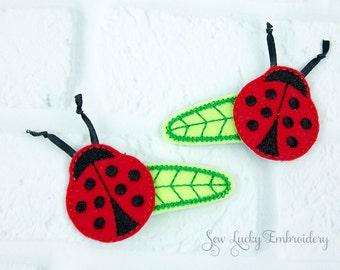 Ladybug Clippy Set