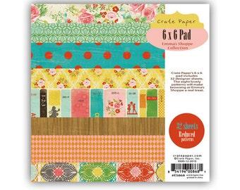 Crate Paper 6x6 Paper Pad - Emma's Shoppe