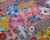 Shabby Chic Fabrics, Vintage Assorted Feedsack Packet, Feedsack  Novelty, Feedsack Scrap Sampler, Feed Sack Fabric, Feed Sack Vintage C