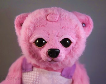 Jewel the Bear - Whiteleaf Village Jointed Art Doll
