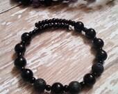 Aromatherapy Diffuser Bracelet in Black