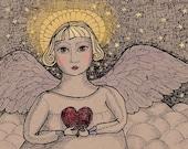 Angel cards from Sande Jones-Elkins's original art, mixed set of 10