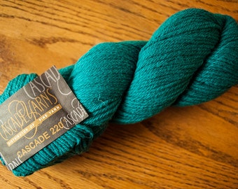 Cascade 220 Worsted Weight Wool Yarn - 220 yards - Fanfare 9639