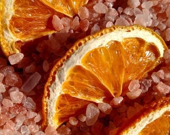 Orange Rosemary Bath Salts