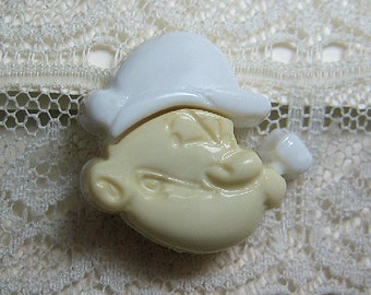 Popeye The Sailor Man Sewing Button