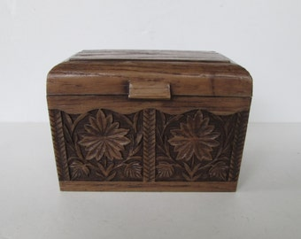 Faux Bois Recipe File Box