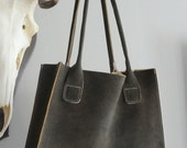 Leather Deerskin Shoulderbag - 7Days a Week (Organic Leather)