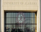 Alabama Bryant–Denny Entrance, Marble Stone Coaster.Mix and Match With My Other Coasters To Make A Set..