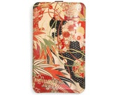 Leather iPhone 6s Case/ iPhone 6 Case/ iPhone 5s Case/ Smartphone case - Kimono Collection No. 1