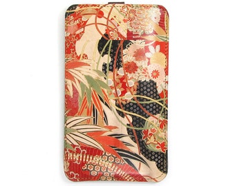 Leather iPhone 6s Case/ iPhone 6 Case/ iPhone 5s Case/ Smartphone case - Kimono Collection No. 1