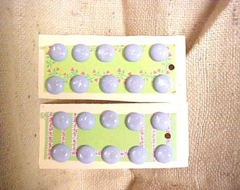 Vintage Buttons 20 Lavender Pearl Irridescent Top w Shanks #A261 FREE SHIPPING