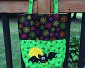 SALE ** Halloween Trick or Treat Bag