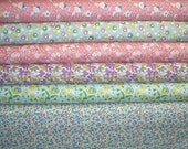 YARD Bundle - 5% OFF! Toy Box IV, Blue Hill Fabrics, Designer Cotton Quilt Fabric, 1930's Reproduction Fabric, Quilting Fabric, Fat Qtr