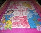 4 Disney Princesses Fleece Blanket