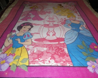 4 Disney Princesses Fleece Blanket