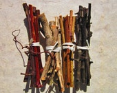 Pet Chew Sticks, 5 Choices of Baked Fruit Wood, Rodent Chew Toy, Rat Chinchilla Guinea Pig Supply, Pear, Blueberry, Grape, Blackberry, Apple