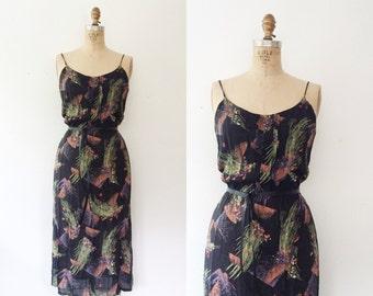 vintage sundress / 70s sundress / Stardust dress