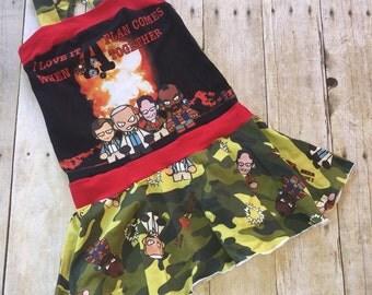 Custom A-Team Tube Dress - Girl's 6