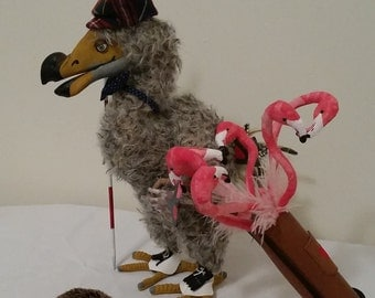 The Dodo Playing Croquet