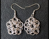 Chain Maille Pattern Celtic Star Chain Maille Earrings Jewelry Making Kit T113K