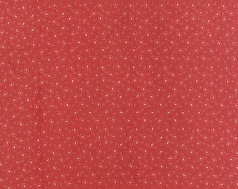 Red Fabric - Polka Dots and Paisleys-Minick and Simpson-Moda-14804 15