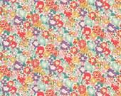 Liberty Fabric Michelle A Tana Lawn Fat Quarter Bright Floral