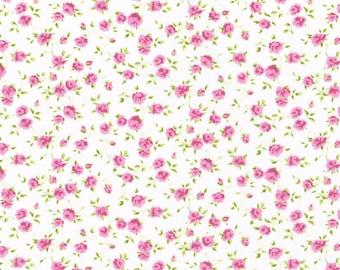 Liberty Fabric  Tana Lawn One Yard Field Nina H Pink