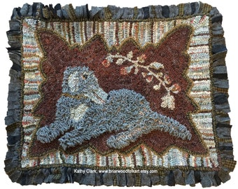 Rug Hooking Pattern - Winston the Dog