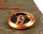 Bohemian Jewelry, Bohemian Pendant, Natural Jewelry