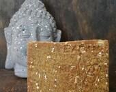 Organic Oats & Honey Soap - All Natural Soap, Oatmeal Soap, Handmade Soap, Unscented Soap, Moisturizing Soap, Facial Soap