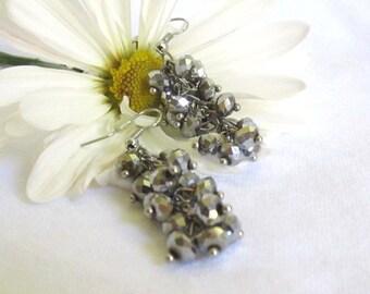 Cluster Dangle Earrings
